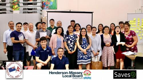 Ice Workshop organised by NZNA  in collaboration with the Henderson-Massey Local Board (2019)